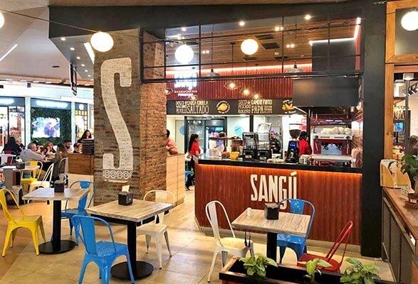 Sangú (Mall Plaza Los Domínicos)