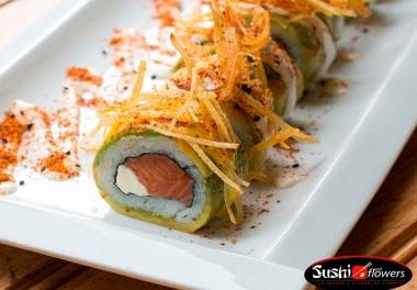 Sushi and Flowers (Peñuelas)